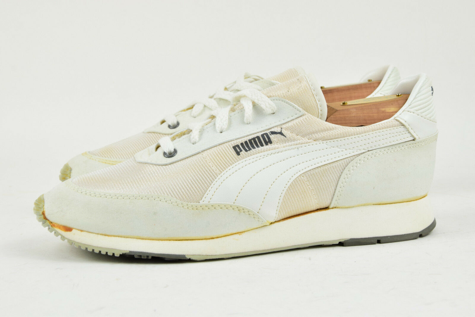 Made Puma 1980s Vintage Trainers Schuhes Made  in Taiwan UK 6 1fc9e4