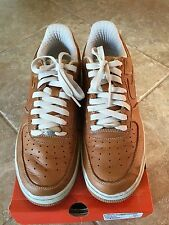 NIKE AIR FORCE 1 2005 MAPLE/ MAPLE-BIRCH ORIGINALS MENS SIZE 9.5 FREE SHIP