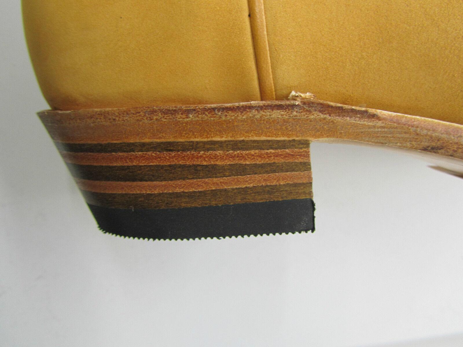 Sendra 2605 Unisex Cowboy Stiefel Tan Handmade Nubuck Leder Western Biker Handmade Tan 0b7135