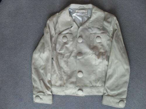 Veste cuir mouton bleu L véritable excellente en By Jessica clair Christopher UUqwZ1r