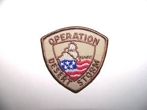 "Operation Desert Storm Patch - 3"" x 3"""