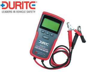 Durite 0-524-74 Digital Battery Tester with Start//Charge Analyser 12//24V
