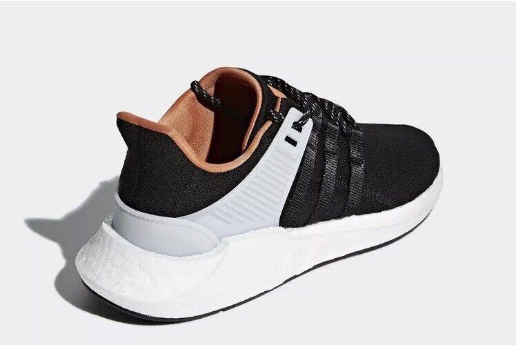 Neue adidas originals mens sz 10,5 eqt schwarz unterstützung 93 / 17 schwarz eqt - weiß - schuh cq2396 8a4669