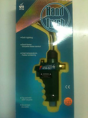 """BERNZOMATIC HEAT TORCH KIT STAND ALONE TS8000 FOR BRAZING WELDING /""""NEW STOCK/"""""""