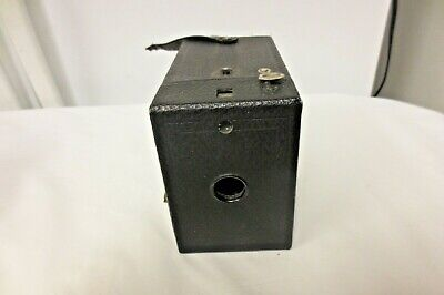 Vintage Eastman Kodak Usa Box Camera No 120 Not Tested Ebay