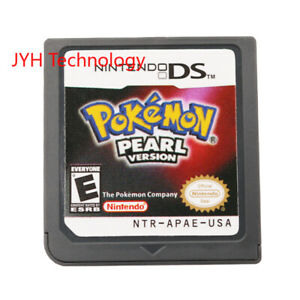 Pokemon-Pearl-Version-Nintendo-DS-2007-Game-Card-For-DS-2DS-3DS-Christmas-Gift