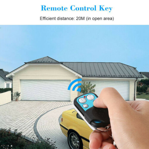 SONOFF Télécommande sans fil 4 boutons Code d/'apprentissage Télécommande 433 MHz