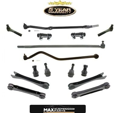 Tie Rod End Kit Front LH RH w//Adjusting Sleeves Set of 6 for Grand Cherokee 4.0
