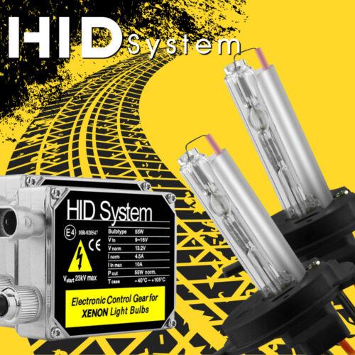 55W Hi//Low Dual Beam Bulbs HID H4 9003 Xenon Bi-xenon Headlight Conversion Kit