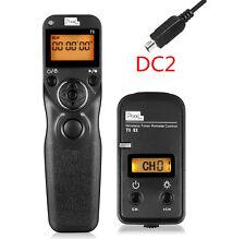 PEXEL Wireless Timer Remote Control Shutter TW283/DC2 for Nikon D3100 D7200 D750