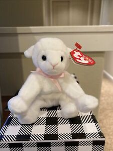 """TY Beanie Baby """" Lullaby"""" Basket Beanies Without Tag  Retired   DOB: 2003"""