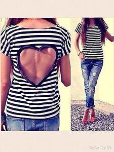 Shirt-tshirt-t-shirt-cuore-heartless-righe-maglia-maglietta-stripe-desig-liu-fix