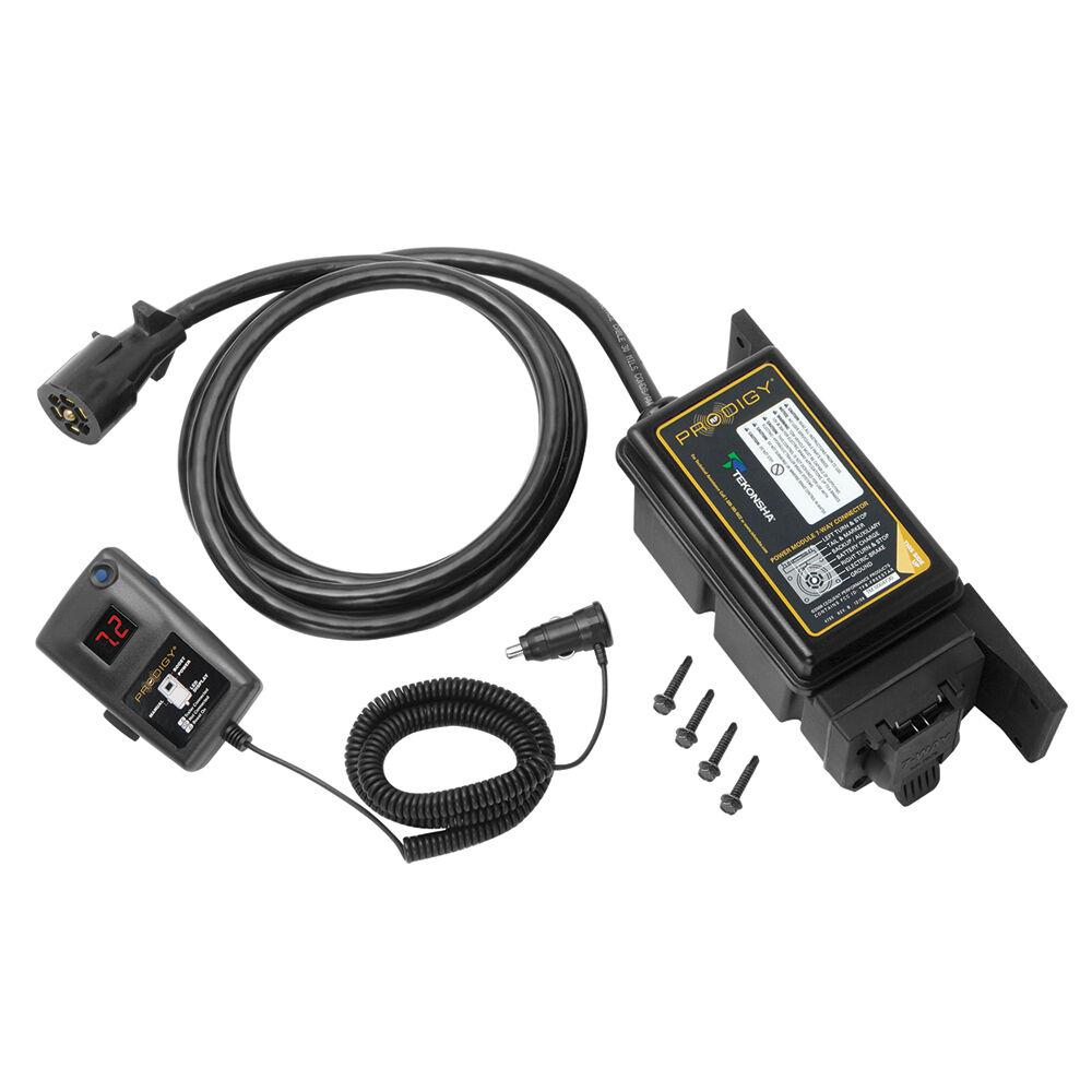 Tekonsha Prodigy RF RF RF Electronic Brake Control f 1-3 Axle Trailers Trailer Mounted da6512