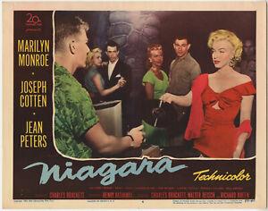 MARILYN-MONROE-NIAGARA-Most-Sought-After-Card-4-1953-FINE-ORIGINAL