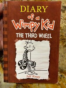 Diary Of A Wimpy Kid The Third Wheel Book 7 Paperback 9781419707292 Ebay