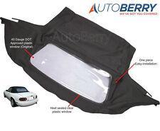 Mazda Miata Convertible Top Amp Plastic Window 1990 2005 Black Cabrio Fits Mazda Miata