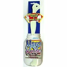 Mayo No Waste Knife Plastic Scraper Spreader Spatula Mayonnaise Jar NEW MADE USA