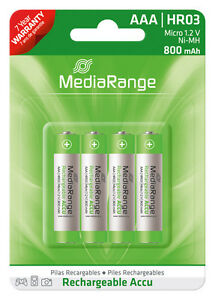 4x-AAA-HR03-Akku-Micro-Batterie-800-mAh-1-2V-wiederaufladbar