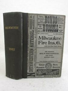 Wisconsin-Wright-039-s-DIRECTORY-OF-MILWAUKEE-FOR-1902-Alfred-G-Wright