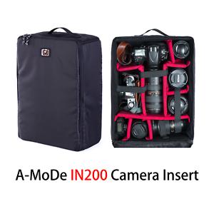 Large Waterproof Dslr Camera Bag Insert Handbag Carry Case A Mode Black Ebay