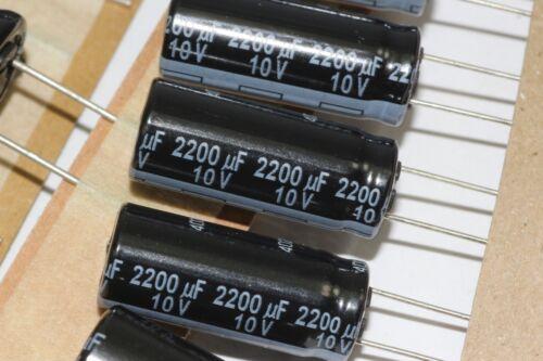 5X Panasonic baja ESR 105ºC FR Gama Condensadores Radiales FM 4.7-4700uF 6.3-63V