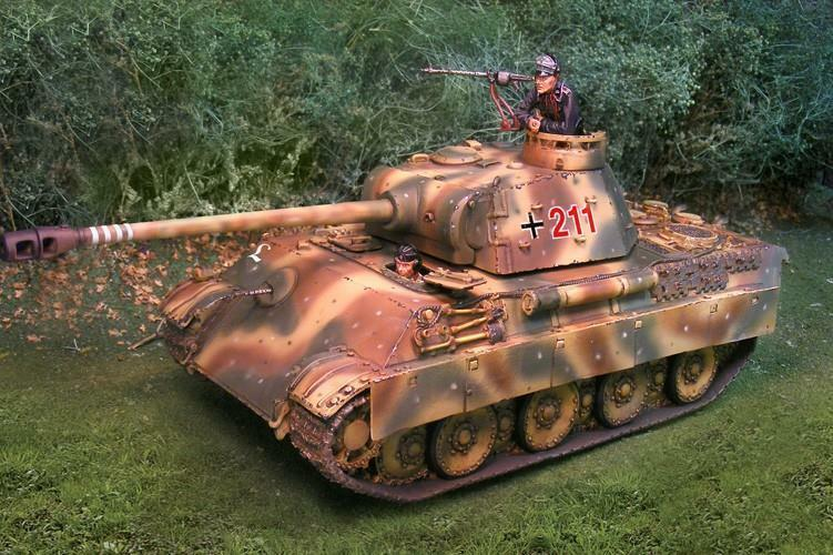 Collectors Showcase - CS00693 - Panther G Normandy - WWII