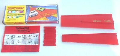 Vintage Anni 1970 Matchbox Lesney Superfast ~ Ta-6 Catapulta Pass ~ In Scatola-mostra Il Titolo Originale