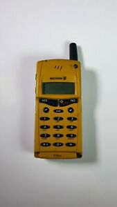 Vintage-Retro-GSM-Cell-Phone-Ericsson-T10s-Yellow-Tested
