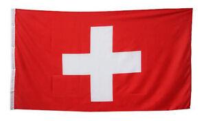Fahne Flagge Schweiz 90x150 cm NEU Hopp Schwiiz!