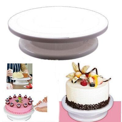 Sugarcraft Food Grade Plastic Cake Plate Cake Stand Turntable Platform Bakeware