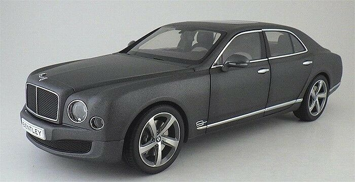 1 18 Kyosho Bentley Mulsanne velocidad K08910DG gris Oscuro