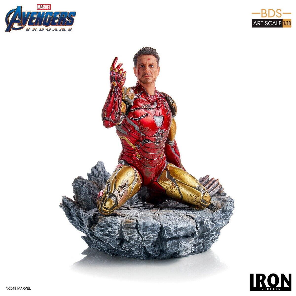 Iron Studios Avengers: Endgame I am Iron Man MARK 85 Tony Stark BDS 1/10 Statue on eBay thumbnail