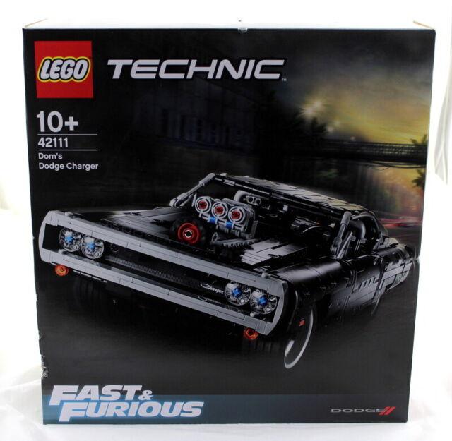Lego Technic: Dom's Dodge Charger (42111) - Brand New - Sealed - Box Damage