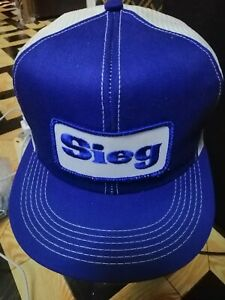 Cap-vintage-SIEG-trucker-body-K-BRAND-USA-condition-9-10-span-out