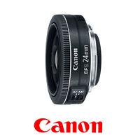 Canon EF-S 24mm f/2.8 STM Pancake Wide Angle Lens (9522B002) *Original box