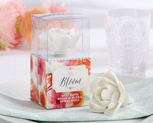 24 in (environ 60.96 cm) Bloom Céramique Fleur bouteille bouchon Bridal Shower Mariage faveurs