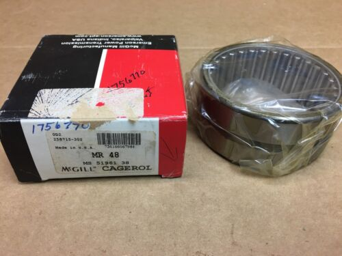 """MCGILL MR48 NEEDLE ROLLER BEARING 3x3-3//4x1-3//4/"""" MR-48 MADE IN USA"""