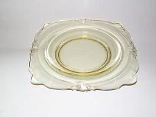 Heisey Yellow Sahara Empress Square Salad Plate s 7  & Artimino Sienna Dinnerware - 7