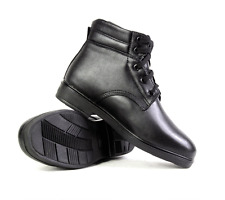 07's series China PLA Army Officer Uniform Winter Cattle Leather Wool Boots