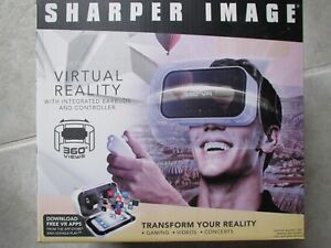 Brand New Sharper Image Virtual Reality Smartphone 360 Viewer W