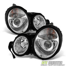 1996-1999 Mercedes Benz W210 E-Class E320 E420 Projector Headlights Lights 96-99