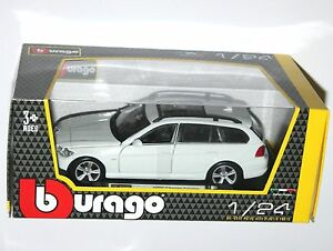 Image Is Loading Burago BMW 3 SERIES TOURING White Die Cast