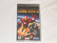 Iron Man 2 Sony Psp Game Factory Sealed Ironman Playstation Portable 2nd