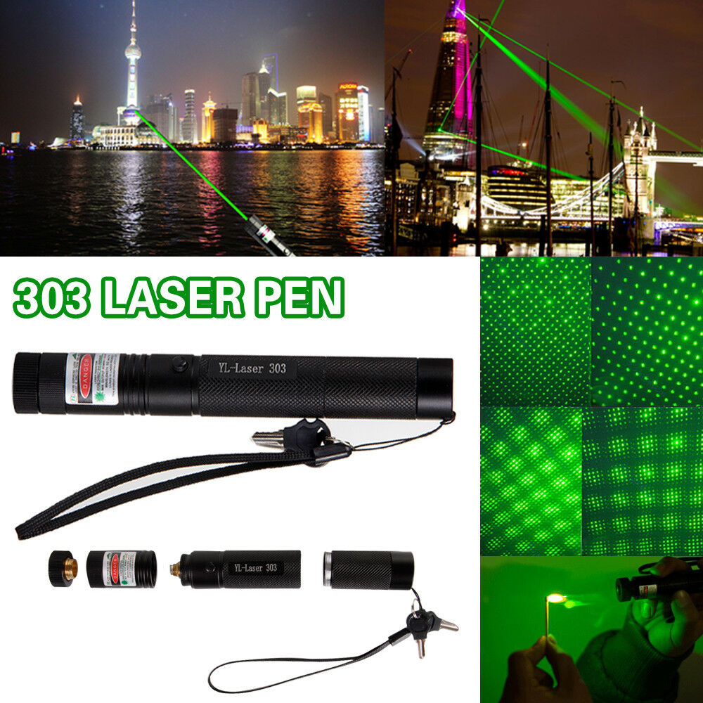 1000Miles Green Laser Pointer Pen Rechargable Visible Beam T