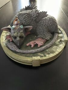 The Last Guardian collectors edition Artbook And Stickers and Trico/boy Figure
