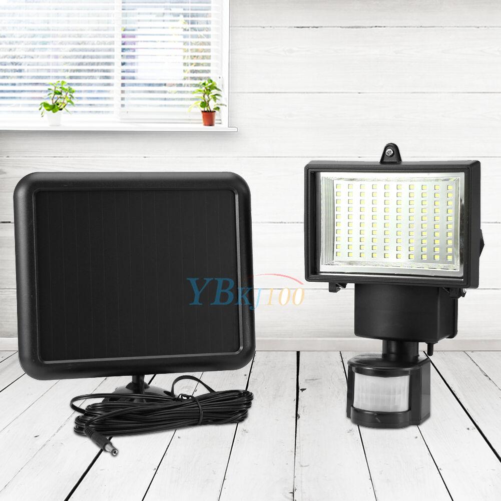 Solar Motion Infrared Sensor Flood Light 60 120 Led Pir