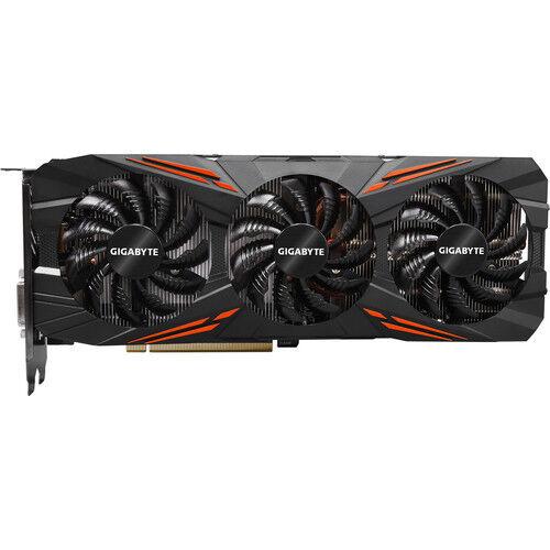 NEW Bulk Pack GigaByte NVIDIA GeForce GTX 1080 8GB G1 Gaming GPU Overclocked