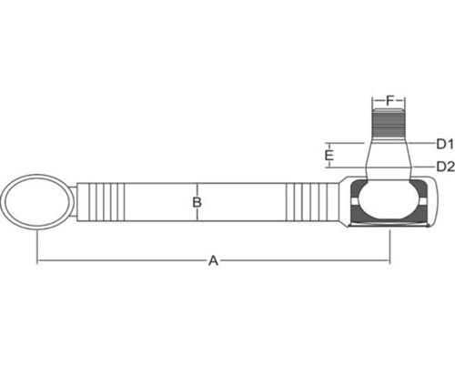 D 4506 L 980mm feste Lenkstange Lenkhebel für Deutz D 4006