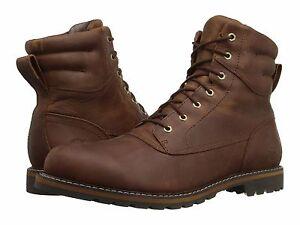 Timberland Chestnut Ridge Waterproof Plain Toe Boot Medium Brown Full Grain Men