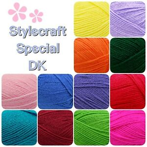 Stylecraft-SPECIAL-DK-Double-Knitting-Premium-Acrylic-Crochet-Yarn-Wool-100g